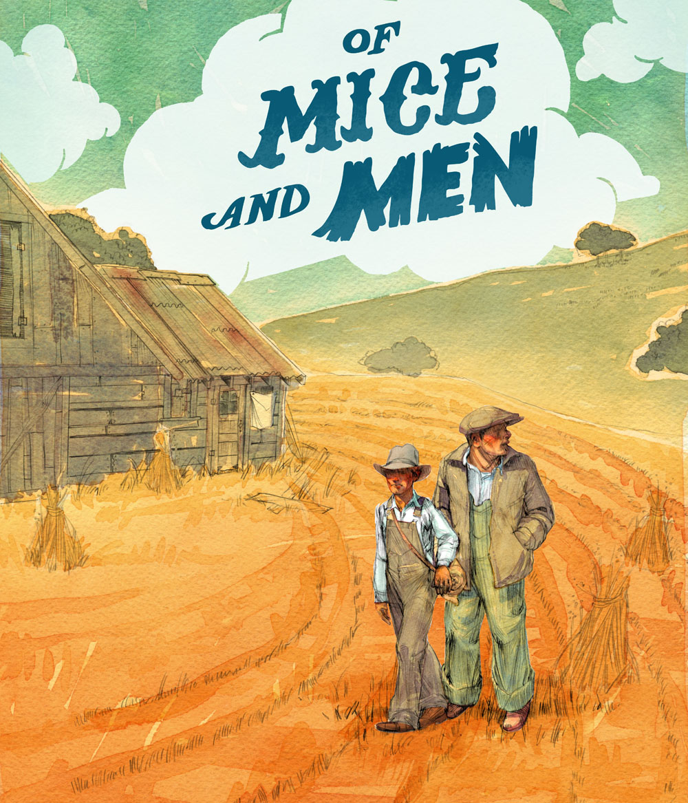 an analysis of lennies guilt in of mice and men Of mice and men study guide contains a biography of john steinbeck, literature essays, quiz questions, major themes, characters, and a full summary and analysis.